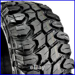 4 New Gladiator X-Comp M/T LT 35X12.50R20 Load F 12 Ply MT Mud Tires