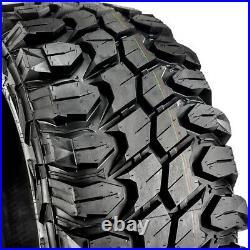 4 New Gladiator X-Comp M/T LT 35X12.50R22 Load F 12 Ply MT Mud Tires