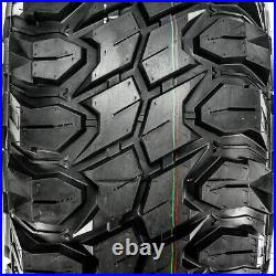 4 New Gladiator X-Comp M/T LT 37X13.50R22 Load F 12 Ply MT Mud Tires