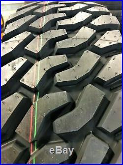 4 New Green Max Traveler M/T LT 285/70R17 Load E 10 Ply MT Mud Tires
