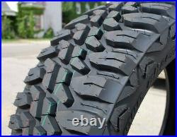 4 New Haida Mud Champ HD868 LT 33X12.50R22 114Q Load E 10 Ply MT M/T Mud Tires