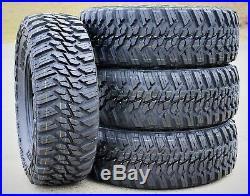 4 New Kanati Mud Hog M/T LT 265/75R16 Load E 10 Ply MT Mud Tires