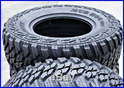 4 New Kanati Mud Hog M/T LT 295/60R20 (34x11.50R20) Load E 10 Ply MT Mud Tires