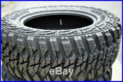 4 New Kanati Mud Hog M/T LT 315/75R16 Load D 8 Ply MT Mud Tires