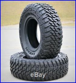 4 New Kanati Mud Hog M/T LT 33X12.50R18 Load E 10 Ply MT Mud Tires