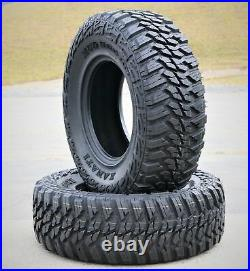 4 New Kanati Mud Hog M/T LT 37X13.50R22 Load E 10 Ply MT Mud Tires
