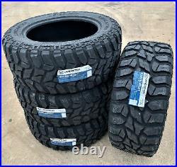 4 New Lancaster LS-67 M/T LT 33X12.50R22 Load F 12 Ply MT Mud Tires