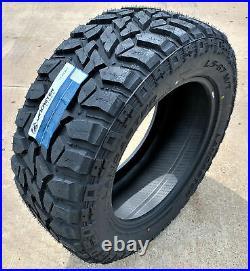 4 New Lancaster LS-67 M/T LT 35X12.50R17 Load E 10 Ply MT Mud Tires
