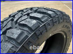 4 New Lancaster LS-67 M/T LT 35X12.50R22 Load F 12 Ply MT Mud Tires