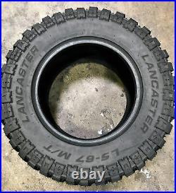 4 New Lancaster LS-67 M/T LT 37X13.50R24 Load F 12 Ply MT Mud Tires