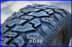 4 New Lanvigator Catchfors M/T II LT 35X12.50R22 Load E 10 Ply MT Mud Tires