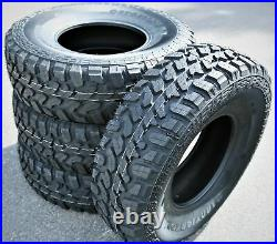 4 New Lanvigator Catchfors M/T LT 35X12.50R15 Load C 6 Ply MT Mud Tires