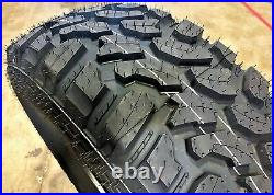 4 New Lanvigator Catchfors M/T LT 35X12.50R17 Load E 10 Ply MT Mud Tires