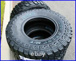 4 New Leao Lion Sport MT LT 215/75R15 Load C 6 Ply (DC) M/T Mud Tires