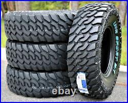 4 New Leao Lion Sport MT LT 235/85R16 Load E 10 Ply (OWL) M/T Mud Tires