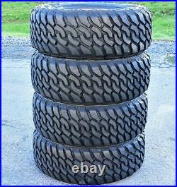 4 New Leao Lion Sport MT LT 285/65R20 Load E 10 Ply M/T Mud Tires