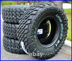 4 New Leao Lion Sport MT LT 31X10.50R15 Load C 6 Ply M/T Mud Tires