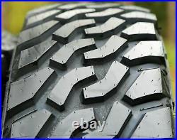 4 New Leao Lion Sport MT LT 33X12.50R18 Load E 10 Ply M/T Mud Tires