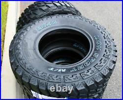 4 New Leao Lion Sport MT LT 35X12.50R22 Load F 12 Ply M/T Mud Tires