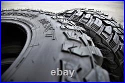 4 New Mastercraft Courser MXT LT 235/85R16 Load E 10 Ply M/T Mud (BLEM) Tires
