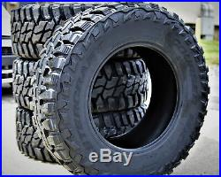 4 New Mastercraft Courser MXT LT 295/70R18 Load E 10 Ply M/T Mud Tires