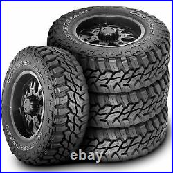 4 New Mastercraft Courser MXT LT 35X12.50R15 Load C 6 Ply MT M/T Mud Tires