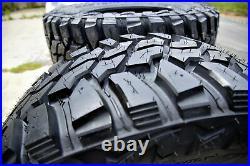 4 New Mastercraft Courser MXT LT 37X12.50R17 Load D 8 Ply MT M/T Mud Tires