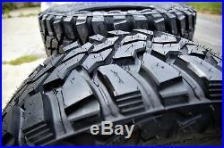 4 New Mastercraft Courser MXT LT 37X12.50R20 Load E 10 Ply M/T Mud Tires