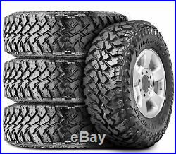 4 New Maxxis Buckshot Mudder II MT-764 LT 265/75R16 Load E 10 Ply M/T Mud Tires