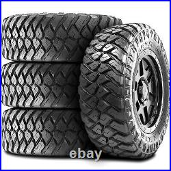 4 New Maxxis Razr MT LT 35X12.50R17 Load E 10 Ply M/T Mud Tires