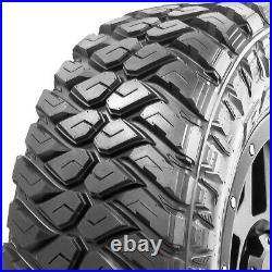 4 New Maxxis Razr MT LT 37X12.50R17 Load E 10 Ply M/T Mud Tires