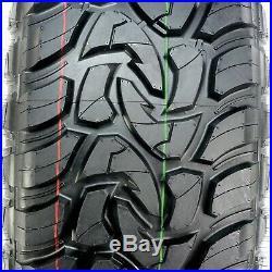 4 New Mazzini Mud Contender LT 275/65R18 Load E 10 Ply M/T Mud Tires