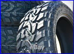 4 New Mazzini Mud Contender LT 285/55R20 Load E 10 Ply M/T Mud Tires