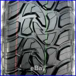 4 New Mazzini Mud Contender LT 33X12.50R18 Load E 10 Ply M/T Mud Tires