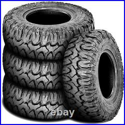 4 New Milestar Patagonia M/T LT 285/70R17 Load E 10 Ply MT Mud Tire Tires