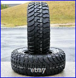 4 New Patriot M/T LT 33X12.50R18 Load F 12 Ply MT Mud Tires
