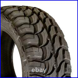 4 New Red Dirt Road RD-6 M/T LT 33X12.50R17 Load D 8 Ply MT Mud Tires