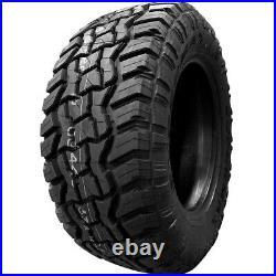 4 New Supermax RT-1 LT 33X12.50R18 Load E (10 Ply) MT M/T Mud Tires