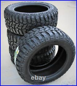 4 New TBB TS-67 M/T LT 35X12.50R17 Load E 10 Ply MT Mud Tires
