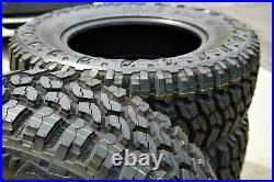 4 New Thunderer Trac Grip M/T LT 245/75R16 Load E 10 Ply MT Mud Tires