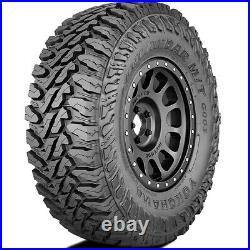 4 New Yokohama Geolandar M/T G003 LT 33X12.50R17 Load E 10 Ply MT Mud Tires