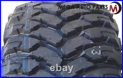4 RBP Repulsor M/T 33X12.50R22LT 109Q All Terrain Mud Tires 10-Ply Load E, New