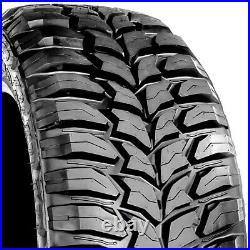 4 (Set) Crosswind M/T 35X12.50R22 Load E 10 Ply MT Mud (BLEM) Tires