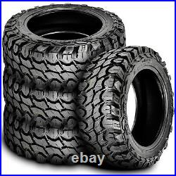4 (Set) Gladiator X-Comp M/T LT 37X13.50R20 Load F 12 Ply MT Mud (BLEM) Tires