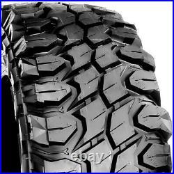 4 (Set) X-Comp M/T LT 33X12.50R22 Load E 10 Ply MT Mud (BLEM) Tires
