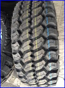 4 Tires Achilles Desert Hawk XMT LT 33X12.50R15 Load C 6 Ply (OWL) M/T Mud