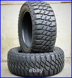 4 Tires Atlas Paraller M/T LT 37X13.50R20 Load F 12 Ply MT Mud