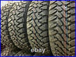 4 Tires Centennial Dirt Commander M/T LT 245/75R16 Load E 10 Ply MT Mud