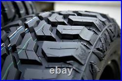 4 Tires Crossleader Wildtiger T01 LT 31X10.50R15 Load C 6 Ply MT M/T Mud