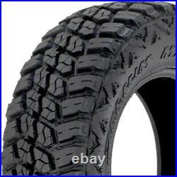 4 Tires Delium Terra Raider M/T KU-255 LT 33X12.50R20 Load E 10 Ply MT Mud